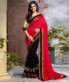 Silk Jacquard Saree with Blouse