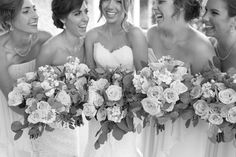 Cute coral wedding at the Legends at Merrill Hills : the bride wore a dress by Stella York