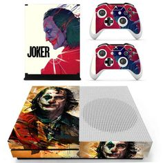 Turnyour Xbox One S console into a piece of art with one of our stick-on Xbox one S skins! EveryXbox one S skinis designed to suit each personal style. Xbox One S skins are made of high-quality material, incredibly easy to use, which improves the performance of gaming. We have thousands of high-quality products that had satisfied thousands of our customers. Increasing online shopping increases our hunger for high standards in Xbox one S decals quality. All you have to do is peel the decals fr S Console, Console Styling, Xbox One S, High Standards, Games To Play, Online Shopping, Personal Style, Art Pieces, Decals