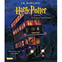 Harry Potter Und Der Gefangene Von Askaban Vierfarbig Illustrierte Schmuckausgabe Der Gefangene Von Askaban Harry Potter Bucher Harry Potter Schmuckausgabe