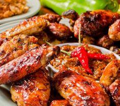 Jamaican Dishes, Jamaican Recipes, Jerk Chicken Wings, Chicken Fingers, Comida Latina, Caribbean Recipes, Caribbean Food, Chicken Wing Recipes, Recipe Chicken
