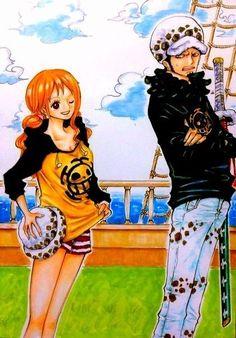 One Piece, Law, Nami