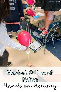 Engaging Students in Learning about Force and Newton& Laws of Motion with a. Engaging Students in Learning about Force and Newton& Laws of. Science Lesson Plans, Science Lessons, Teaching Science, Science Activities, Science Experiments, Science Projects, Physics Experiments High School, Teaching Resources, High School Science