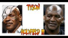 Fan Art: Mike Tyson VS Holyfield III #ironmiketyson #miketyson #tyson #holyfield #evanderholyfield #Box Mike Tyson, Cyber, Fan Art, Box, Instagram, Make Art, Portraits, Snare Drum