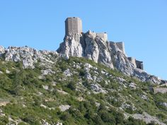 Cucugnan (11. Aude) - Quéribus Castle / Burg Quéribus / Château de Quéribus