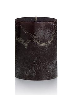 Distressed Short Candle
