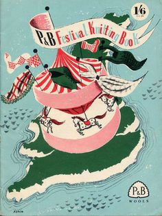 """Festival of Britain Carousel - knitting book Nothing says """"festive"""" like a carousel!"""