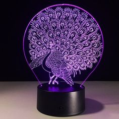SHARE & Get it FREE | 3D Peacock 7 Color Touch Changing Night LightFor Fashion Lovers only:80,000+ Items·FREE SHIPPING Join Dresslily: Get YOUR $50 NOW!