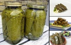 Cum sa pui pe iarna frunze de vita-de-vie - Pentru sarmale fragede si gustoase My Recipes, Pickles, Cucumber, Mason Jars, Food And Drink, Pickling, Pickle, Glass Jars, Jars