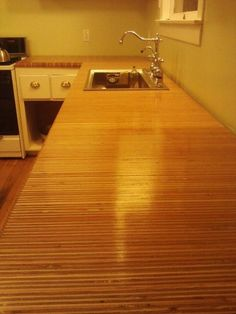 plywood: the best cheap kitchen countertop | cheap kitchen
