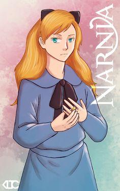 Narnia Characters: Polly by ElykRindon.deviantart.com on @DeviantArt