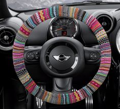 Car Accessories by CoverWheel - so many cute steering wheel covers...for the future!