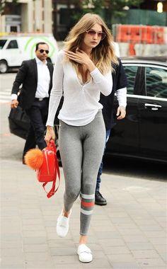 Gigi Hadid heads out with boyfriend Zayn Malik in New York City on July 14, 2016.