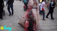 Niesamowity kostium na Halloween  w ulung tv