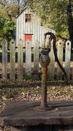 I have always loved old pumps!