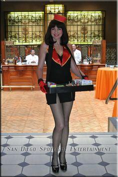 cigarette girls | Vintage Cigarette Girls. Inspiration  for cigarette girl uniform
