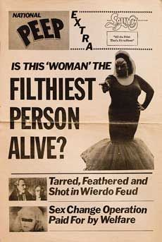 Posteritati: PINK FLAMINGOS 1973 U.S. Herald (11x17) Here's Johnny, John Waters, Badass Women, Pink Flamingos, Role Models, Movies And Tv Shows, Drag Queens, Madonna, Movie Posters