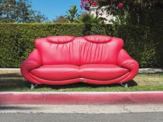 The city's streets are fertile ground for cast-off couches. Just ask photographer Andrew Ward
