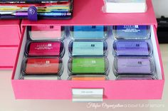 I recently started stamping in my Filofax & found these ink pads at Jo Annes for 50% off!