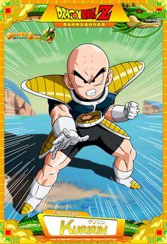 Dragon Ball Z - Kuririn by DBCProject.deviantart.com on @DeviantArt