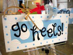 3 DOLLAR SALE Go Heels unc Tar Heels Sign by yourethatgirldesigns, $3.00