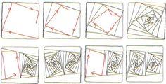 zentangle patterns step by step | original zentangle design used with permission zentangle com zentangle %u2026