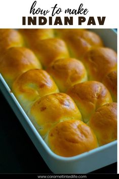 Pav is an Indian bread made with very basic ingredients! Follow this recipe for the softest, pillowy pavs #indianbread #pavrecipe #pav #easybreadrolls #ctl #bestbreadrolls #bread #pavbread Easy Brunch Recipes, Easy Bread Recipes, Roast Recipes, Oven Recipes, Healthy Indian Recipes, North Indian Recipes, Best Instant Pot Recipe, Instant Pot Dinner Recipes, Best Roast Recipe