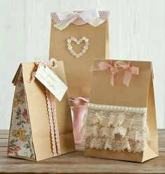Brown bags and accesories