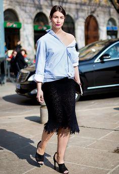 pencil skirt stilettos look - Buscar con Google