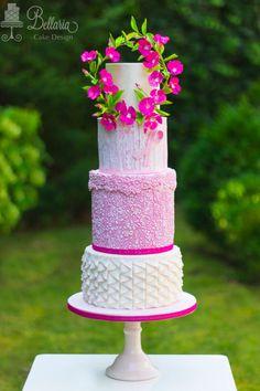 Garland of meaning by Bellaria Cake Design