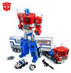 """LEGO Optimus Prime by """"Orion Pax"""", via Flickr"""