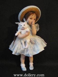 Jane Bradbury Collectible Dolls, Cassie