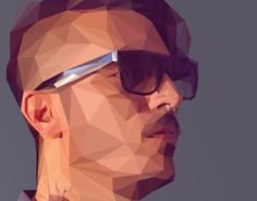 """Check out this @Behance project: """"Low-Poly Self Portrait Tutorial"""" https://www.behance.net/gallery/16579635/Low-Poly-Self-Portrait-Tutorial"""