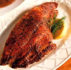 Best chef paul prudhommes seafood magic recipe on pinterest for Red fish taste