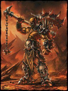 World of Warcraft fanart by Todor Hristov #comics #art