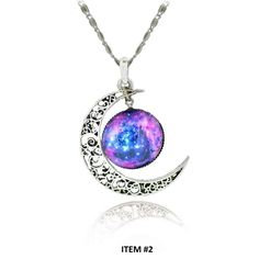 FREE Galaxy Moon Pendant Necklace (Just Pay Shipping) This Galaxy Moon Pendant Necklace is available for a limited time. Click The Add To Cart Button Item Is Part Of Our Free Promo Collection: Please