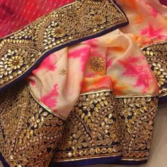 Ambassador of style Embroidery Fabric, Beaded Embroidery, Embroidery Designs, Indian Bridal Lehenga, Indian Sarees, Indian Designer Suits, Simple Sarees, Indian Prints, Designer Blouse Patterns