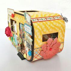 Bedtime Caravan Album - Mother Goose - by Belly Lau - Graphic 45 - 3 of 19