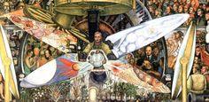 el-hombre-controlador-del-universo de Diego Rivera
