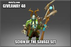 Giveaway 48 - Scion of the Savage Set