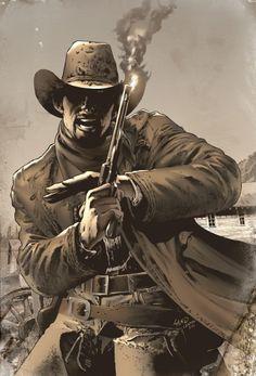 The Dark Tower: The Gunslinger Born 5, Variant / Jae Lee (Artwork), Richard Isanove (Coloring)