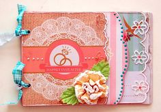 Scrapperlicious: Happily Ever After Mini Album by Irene Tan using Clear Scraps mini Mixable album
