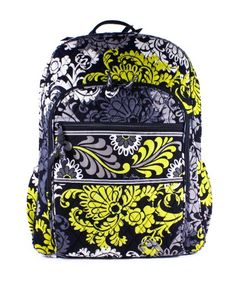 280ea6ed1e Posted in  Apparel Vera Bradley Campus Backpack (Baroque) description For  the student with a serious workload