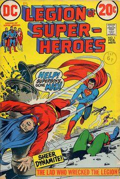 https://flic.kr/p/dmchi6   Legion of Super-Heroes 001 [Feb 1973]