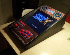 My homemade arcade console, powered by RetroPie.  Check out my makers-dairy on: http://guusoosterbaan.blogspot.dk/p/the-making-of-retro-master-vision-gx.html