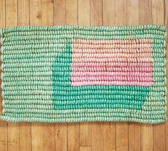 FLUR; hallway - Geflochtene, gewebte Fußmatte - DIY - Umbra Shift floor-mat
