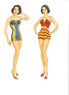 Here is a beautiful cut Elizabeth Taylor paper doll set from Whitman publishing dated 1957.  This is set num...