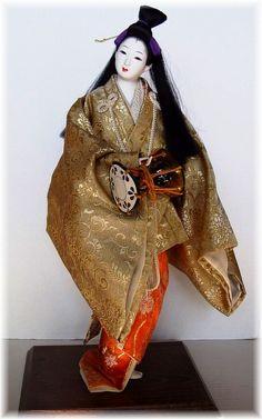 Антикварная японская кукла. Девушка из Киото, 1920-е гг