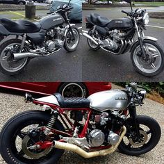 before&after #instamoto #builtnotbought #stocksucks #ride #bike…""