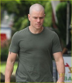 not sure how i feel about this one, matt damon.